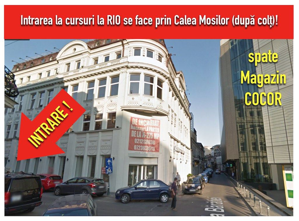 intrare RIO web